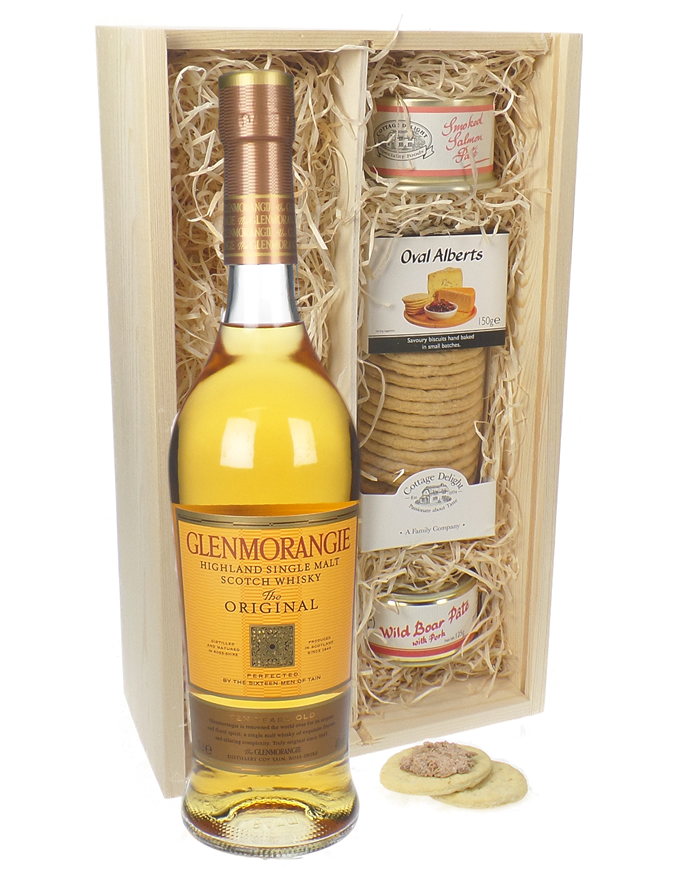 Glenmorangie Original Single Malt and Pate