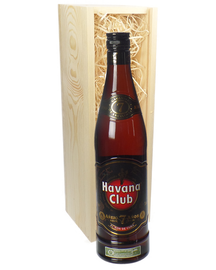 Havana Club 7 Year Old Rum Gift