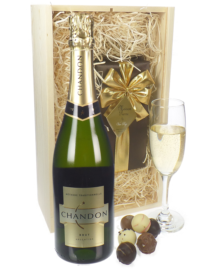 Chandon Sparkling Wine And Chocolates