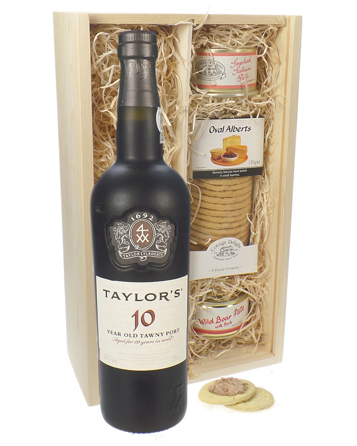 Taylors 10 Year Old Port and Pate