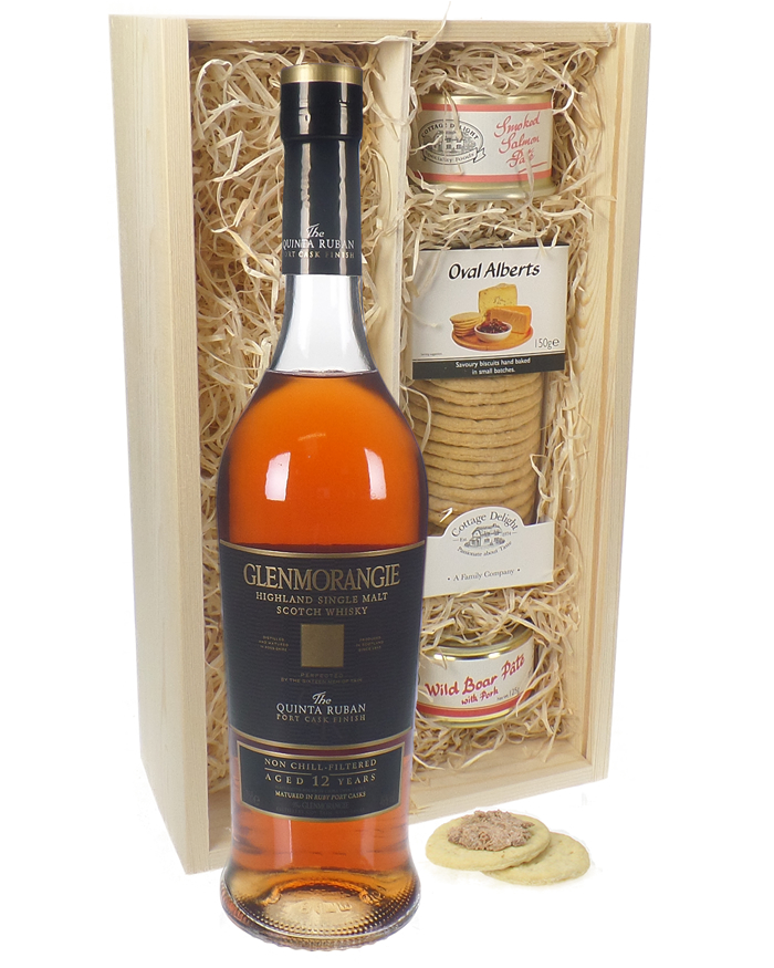 Glenmorangie Quinta Ruban and Pate