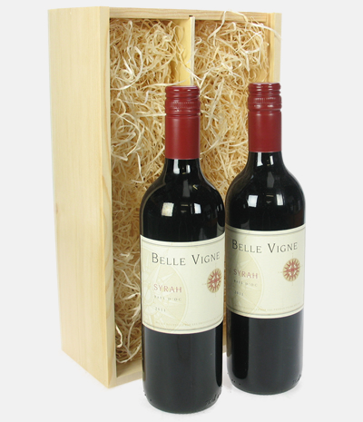32 french syrah twin wine gift price inc next day for Next day wine gifts