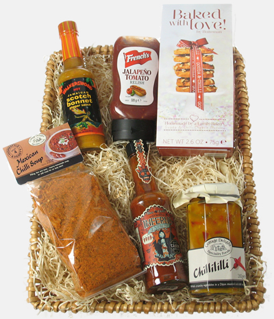 Chilli Lovers Gift Basket