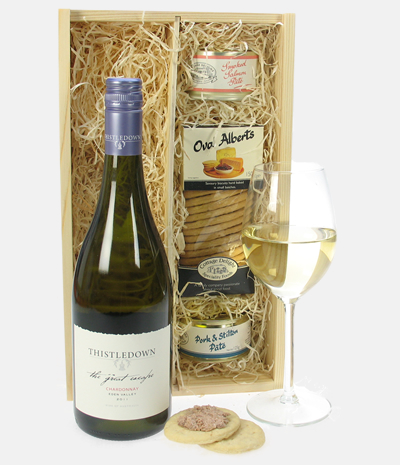 Chardonnay Wine And Pate Gift