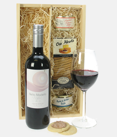Sangiovese Italian Wine And Pate Gift