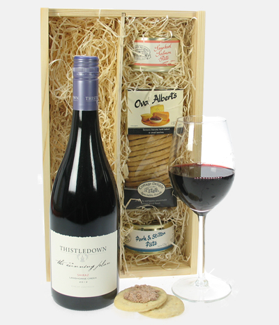 Australian Shiraz Wine And Pate Gift