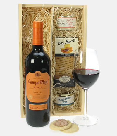 Campo Viejo Reserva and Pate