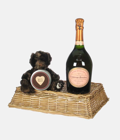 Laurent Perrier Rose Valentines Day Gift