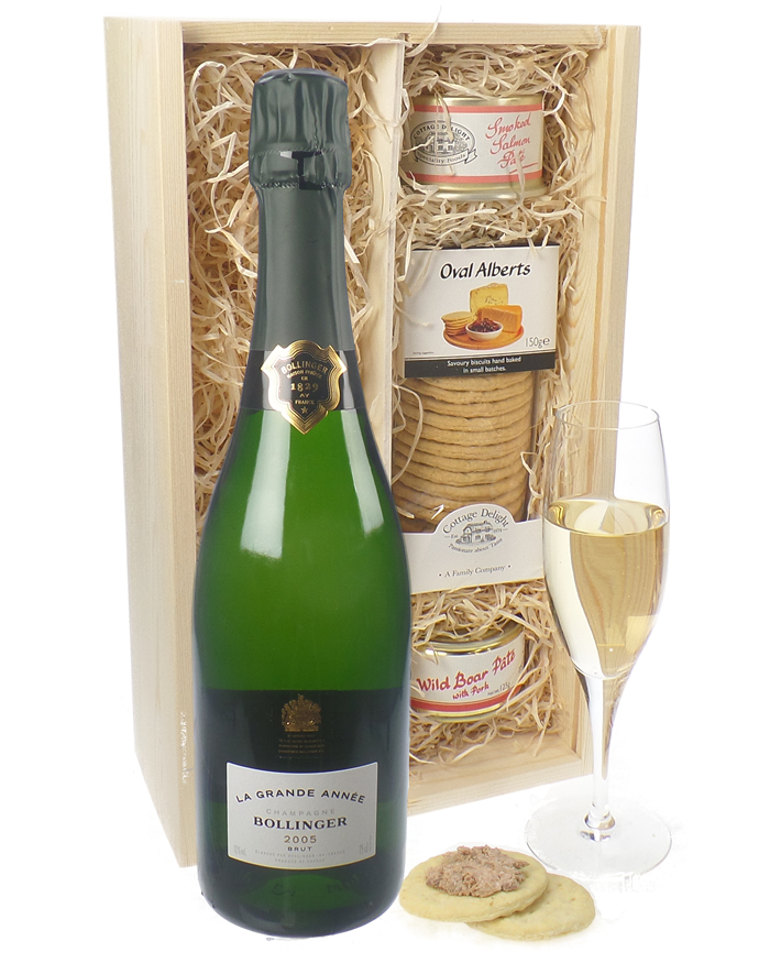 Bollinger Grande Annee and Pate Gift