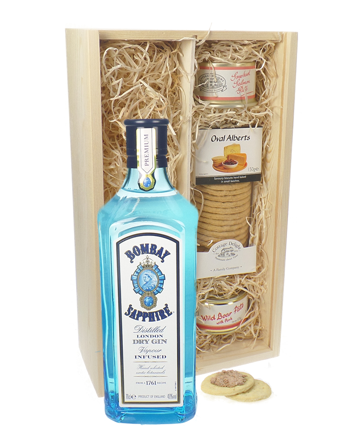 Bombay Gin And Pate Gift