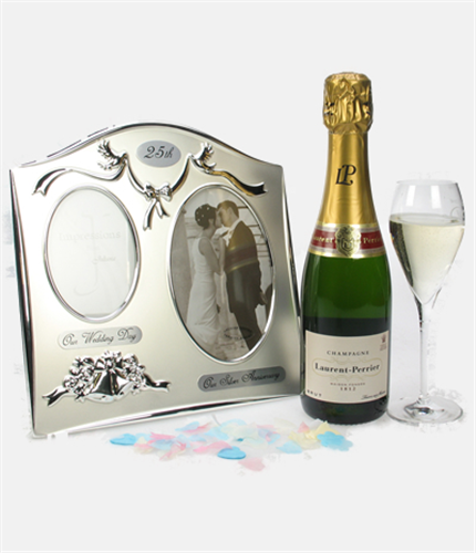 25th Anniversary And Champagne