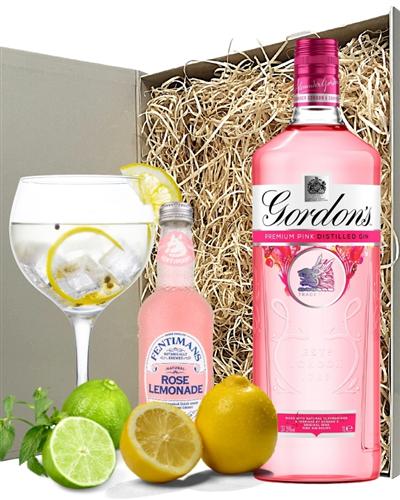 Gordons Pink Gin And Lemonade Gift