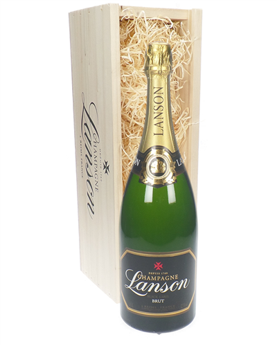 Lanson Champagne Magnum 150cl in Wooden Gift Box