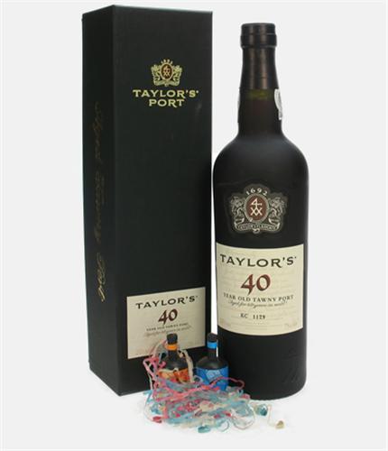 40th Birthday 40 Year Old Port Gift