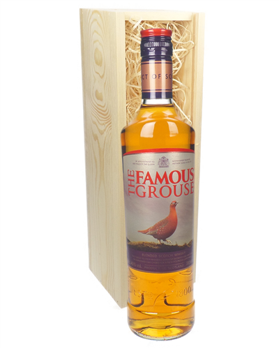 Famous Grouse Blended Scotch Whisky Gift