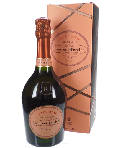Laurent Perrier Rose Champagne Gift Box