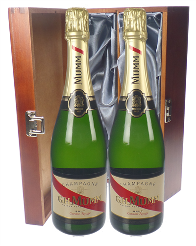 Mumm Cordon Rouge Twin Luxury Gift