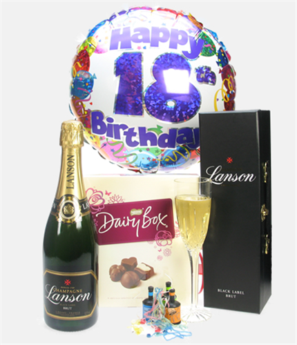 Wedding Gifts Next Day Delivery: 18th Birthday Champagne And Chocolates Gift