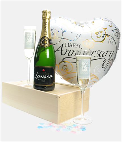 sc 1 st  Sparkling Direct & 25th Wedding Anniversary Gift | Sparkling Direct