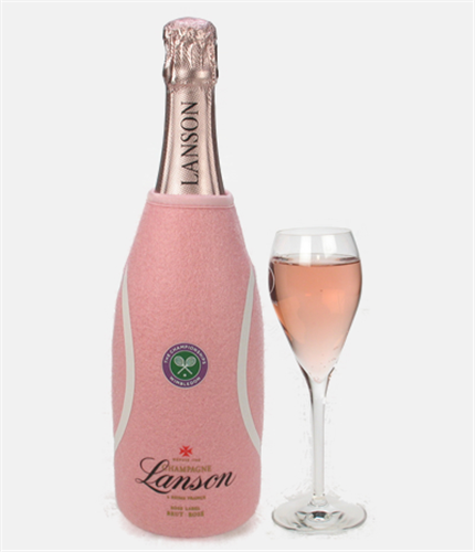 lanson rose wimbledon champagne price inc next day delivery. Black Bedroom Furniture Sets. Home Design Ideas
