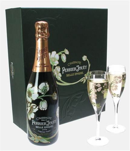 Perrier Jouet Belle Epoque Champagne Gift Set With Flute