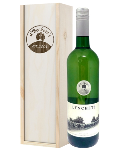 A Becketts English Lynchets White Wine Gift