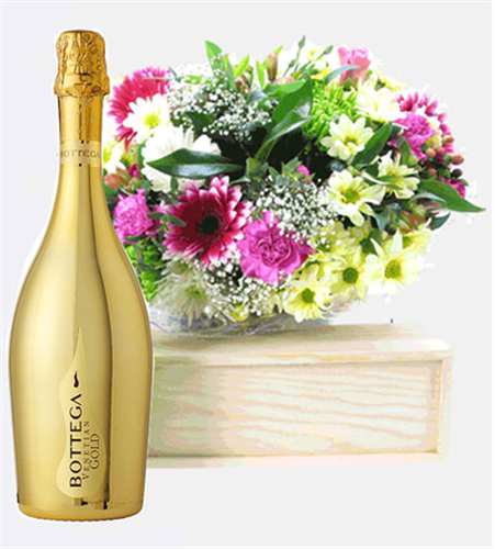 Prosecco And Flowers Next Day Delivery