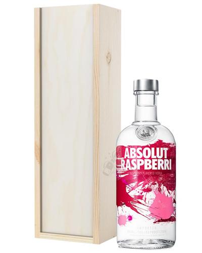 Absolut Raspberry Vodka Gift