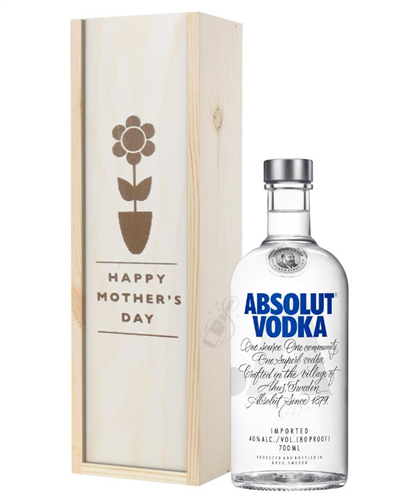 Absolut Vodka Mothers Day Gift