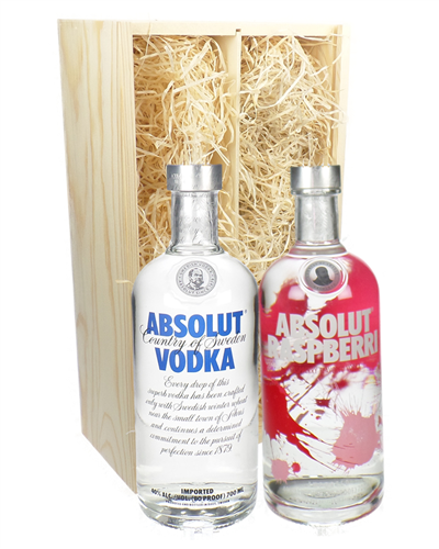 Absolut Vodka Twin Gift Set