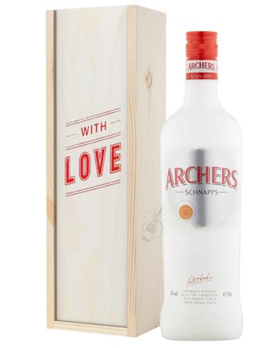 Archers Peach Schnapps Valentines Day Gift
