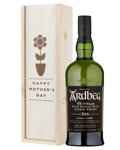 Ardbeg 10 Year Old Single Malt Whisky Mothers Day Gift