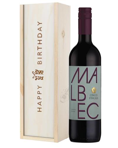 Wine Birthday Gift