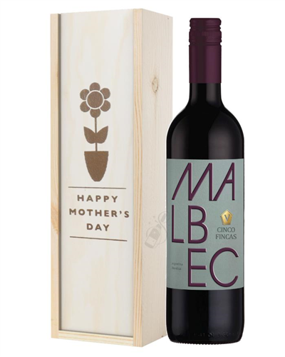 Argentinian Malbec Red Wine Mothers Day Gift