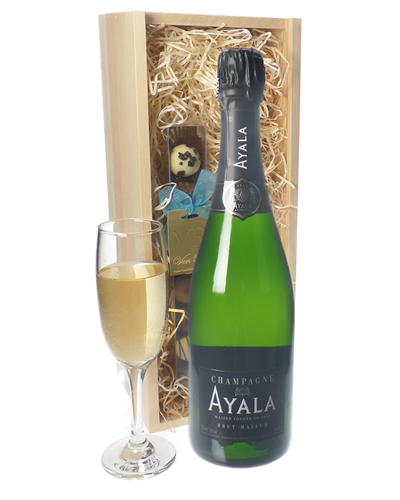 Ayala Champagne and Chocolates Gift Set