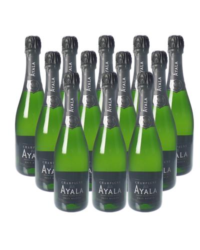 Ayala Champagne Case