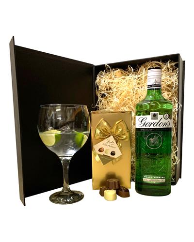 Gin Gift Set - Gin and Chocolates Hamper