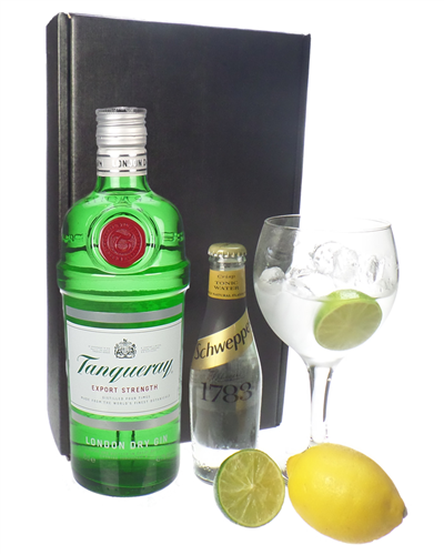 Tanqueray Gin And Tonic Gift Set