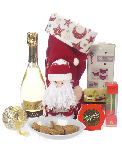 Prosecco Christmas Stocking