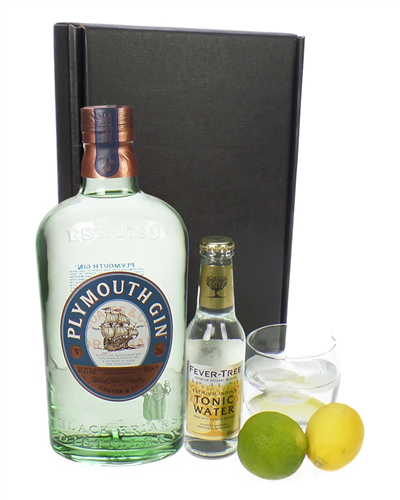 Plymouth Gin And Tonic Gift Set