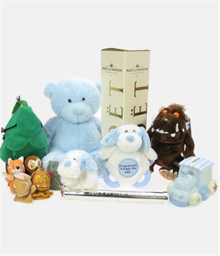 Baby Boy Celebration Blue Gift Hamper