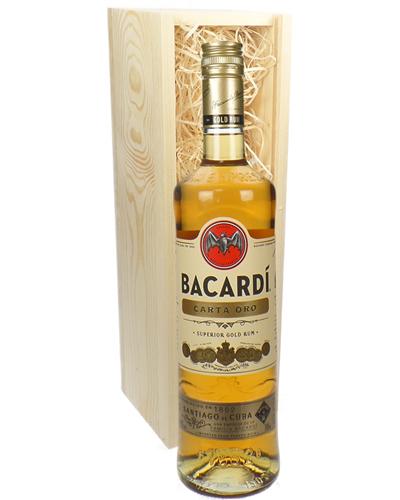 Bacardi Carta Oro Gift