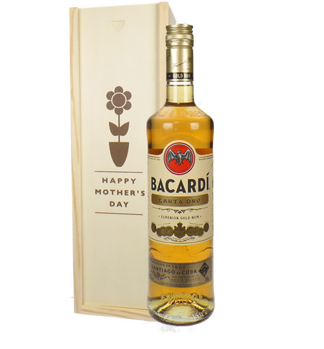 Bacardi Carta Oro Mothers Day Gift