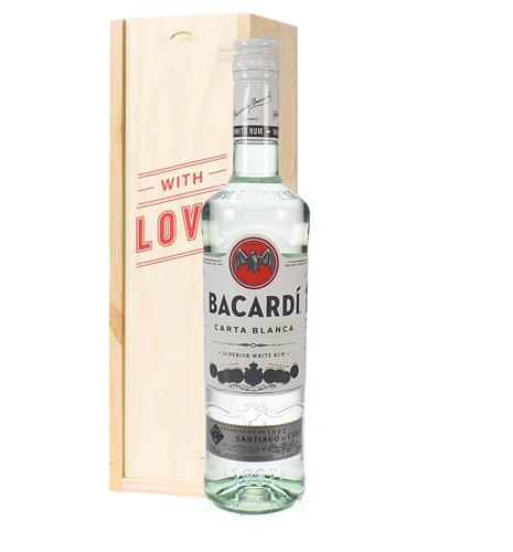 Bacardi Rum Valentines Day Gift