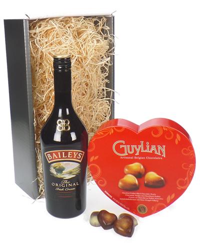 Baileys Irish Cream Valentines Gift