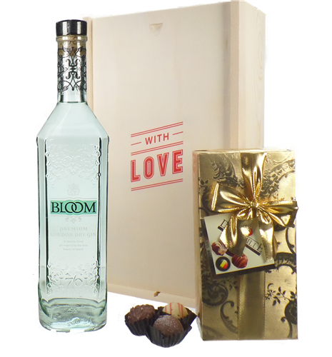 Bloom Gin And Chocolates Valentines Gift