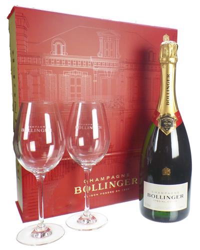 Bollinger Red Flute Set