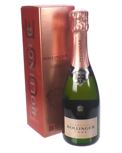 Bollinger Rose Champagne Half Bottle
