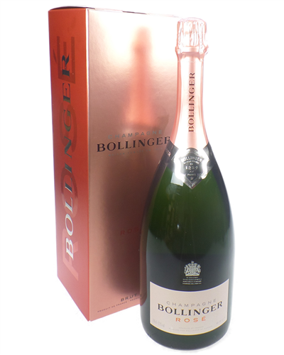 Bollinger Rose Champagne Magnum 150cl Gift Box