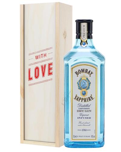 Bombay Sapphire Gin Valentines Day Gift